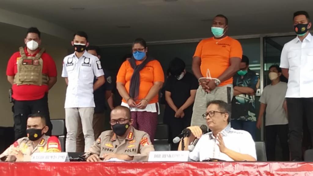 Tim Satgas PPKM Darurat Ditreskrimum Polda Metro Jaya Gerebek Spa yang Membandel