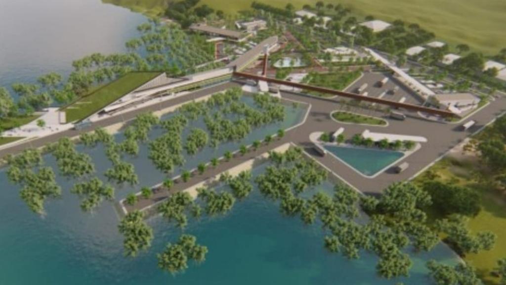 PLBN Terpadu Sei Pancang Pintu Masuk Perbatasan Indonesia-Malaysia di Kaltara