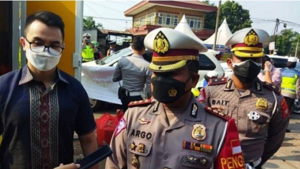 26 Juli, Tim Khusus Patroli Vaksin Polres Metro Bekasi Resmi Bertugas