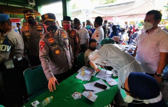 17 Agustus Target Warga DKI Jakarta Mendapatkan Dosis Pertama Vaksin Covid-19