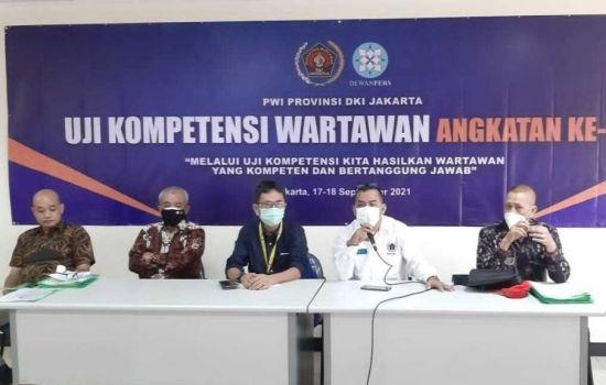 PWI DKI Jakarta Selenggarakan Uji Kompetensi Wartawan Angkatan 52