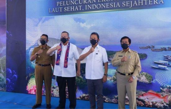 KKP Menyiapkan Roadmap Ekonomi Biru untuk Indonesia Hingga 2045