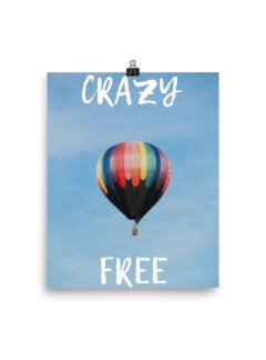 Crazy Free Poster