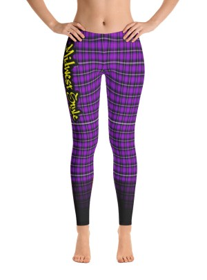 Midwest Style Yoga Pants – Purple