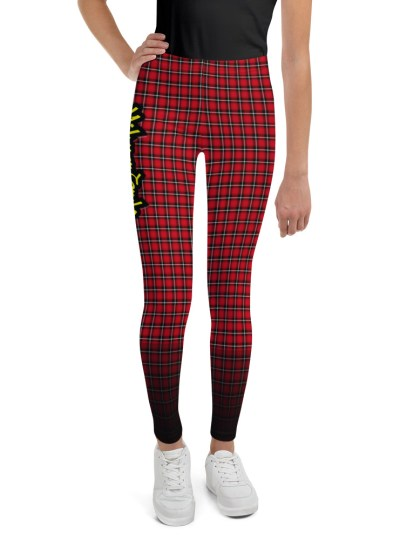 Midwest Style Youth Leggings – Red