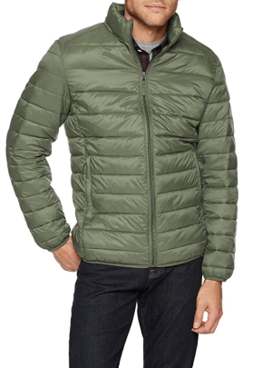 Men's Lightweight Packable Puffer Jacket – Amazon Essentials