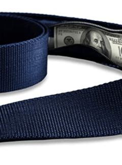 Travel Belt with Hidden Money Pocket