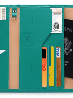 Zoppen RFID Blocking Travel Passport Wallet
