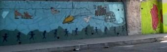 Wall art at Solano School