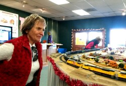 HO Model Train Display