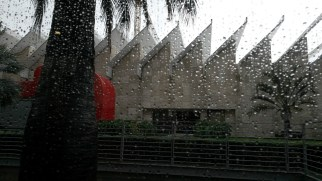 Rainy day at LA