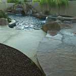 Fiber optics, spa, beach entry, waterfall, grotto, water slide, Phoenix AZ