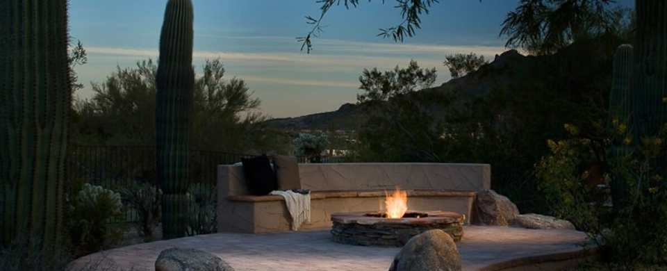 Fire Pits Make Your Pool Work for Winter