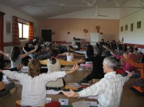 Om Chanting by Students in France