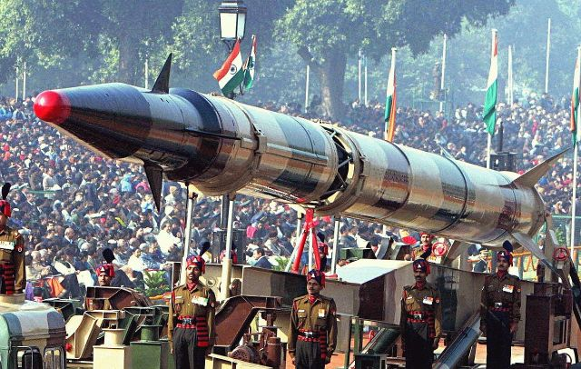 Intercontinental Ballistic Missile Agni 5