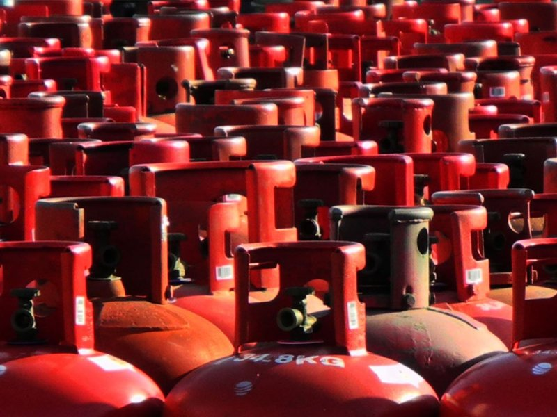price of subsidized gas cylinders has increased by Rs 2.71