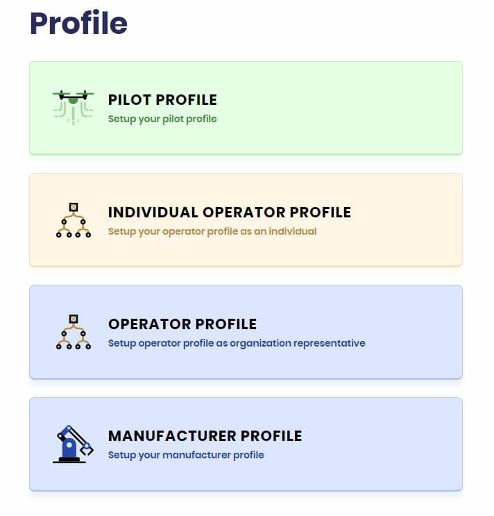 Drone Registration Portal in India