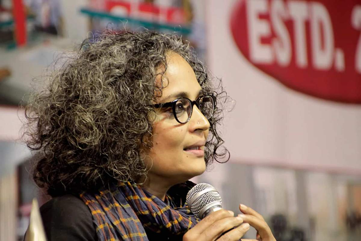 Arundhati Roy says NPR will act as a database for NRC