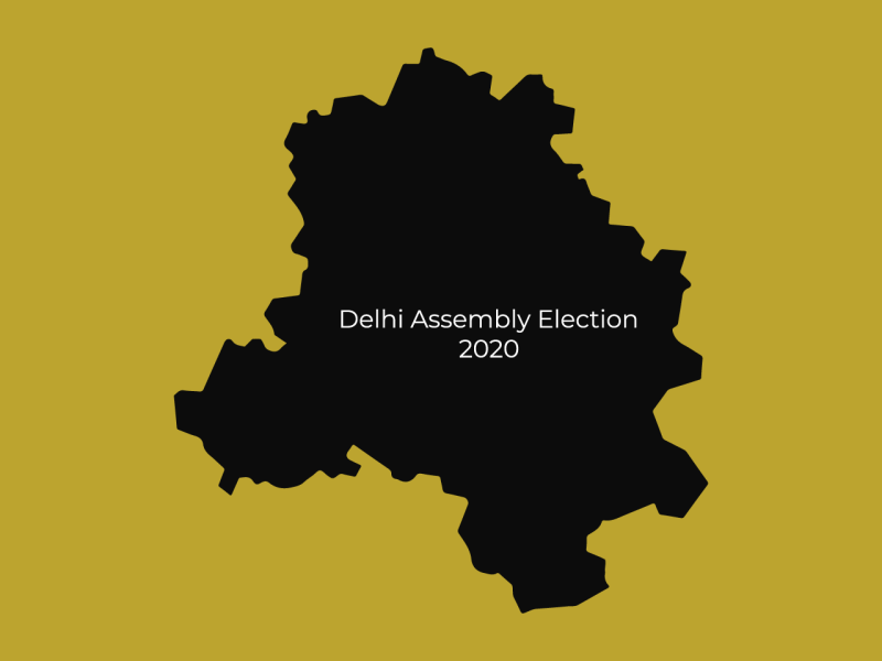 Interesting News of Delhi Assembly Election Day