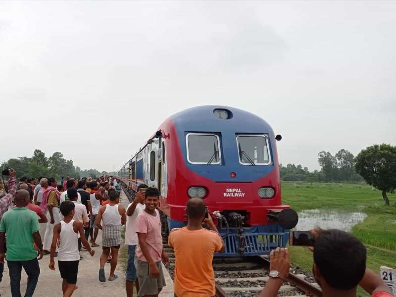 Soon the people of India will be able to go to Nepal by train