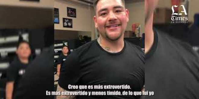 Andy Ruiz Jr inspired by his son fights for redemption