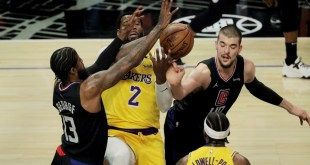 Paul George leads Clippers to rout over depleted Lakers