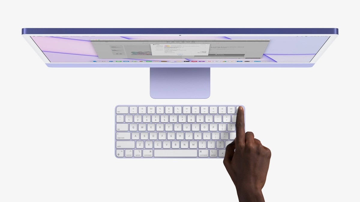 iMac 2021 配套同色