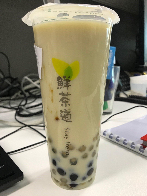 鮮茶道 波霸奶茶 卡路里 : 925kcal(圖片來源:Openrice@ccysl)