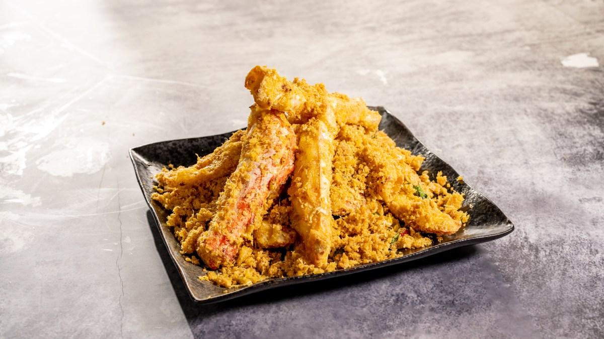 阿拉斯加黃金全蟹宴