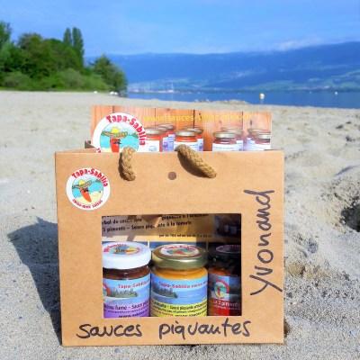 Sauce piquante Swiss-Mex set découvert