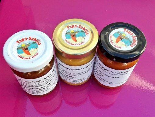 les sauces piqnautes d'Yvonand
