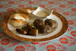 A recipe for Turkish meatballs or Kofte