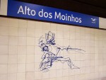 Metrostations Lissabon