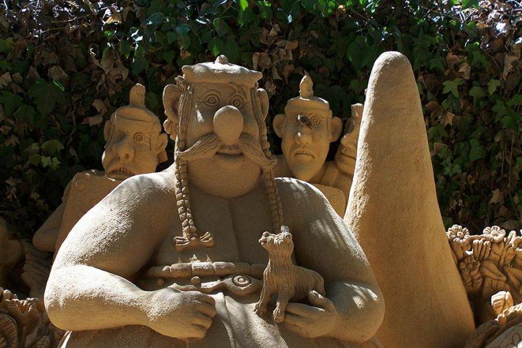 Zandsculpturen Algarve