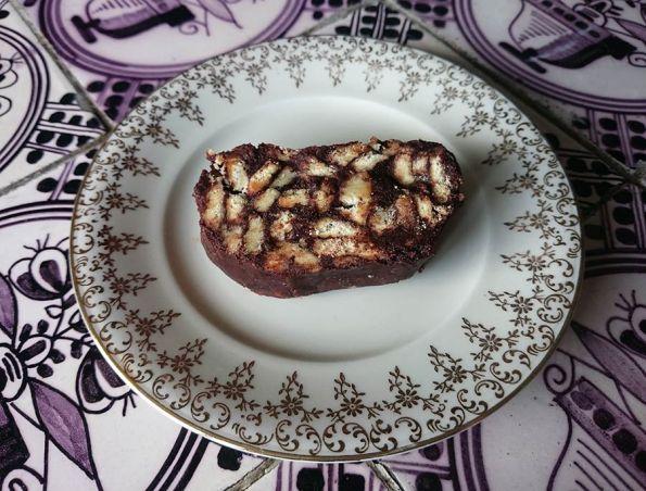 Salame de Chocolate   Saudades de Portugal