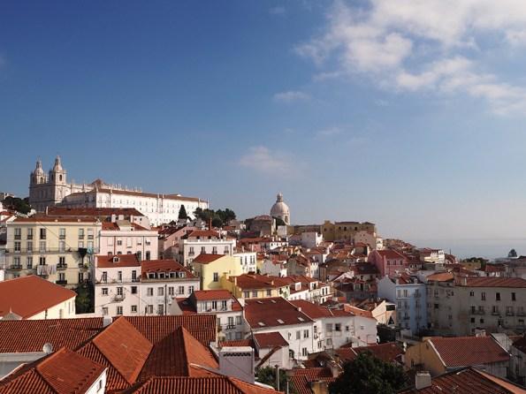 Zeven heuvels Lissabon
