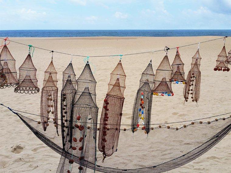 Souvenirs strand Nazaré