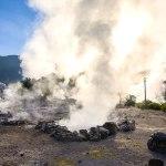 Koken op de vulkaan van São Miguel