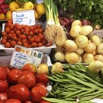 Vanaf het Dakterras: naar de markt
