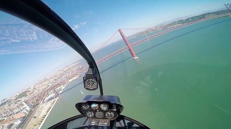 Bucket List: Helikoptervlucht Lissabon | Saudades de Portugal