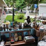 Bos in Barreiros: Brocante Markt