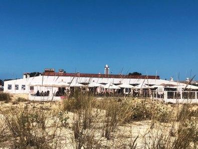 Strandrestaurants in de Oost-Algarve