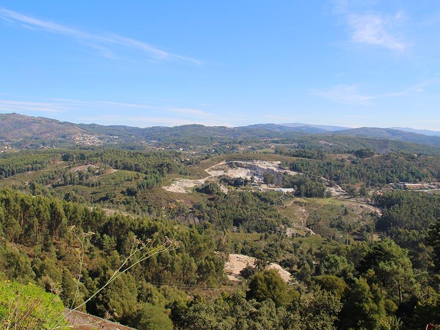 Bos in Barreiros: Ridders