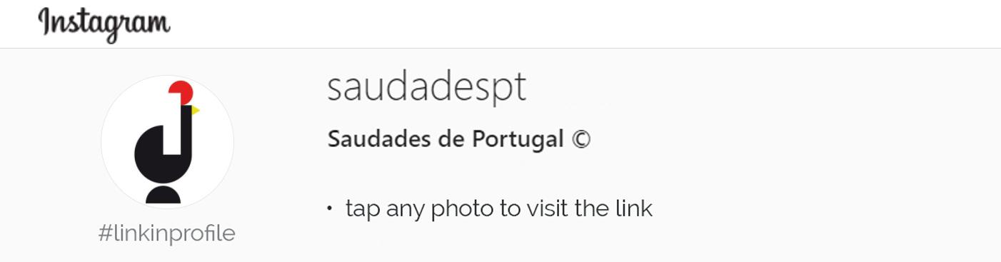 Saudades de Portugal website