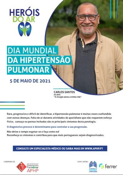 Doentes e cuidadores lançam apelo no Dia Mundial da Hipertensão Pulmonar