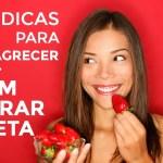 7 Dicas para Emagrecer Sem Furar a Dieta