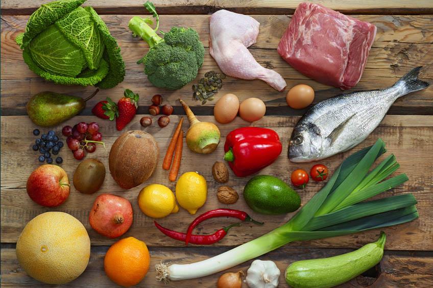 Dieta da proteína Alimentos
