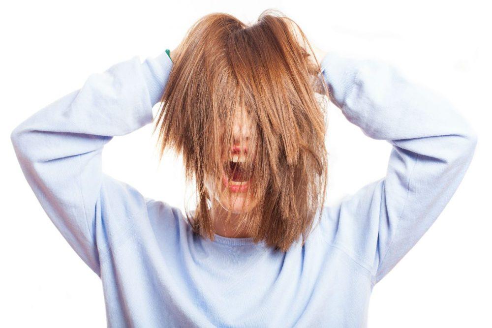 hidratação para queda de cabelo