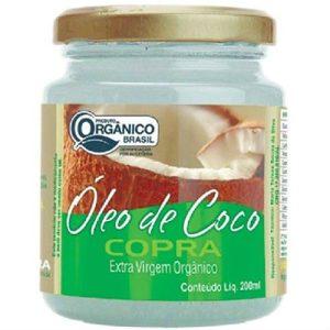 oleo de coco extra virgem organico