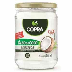 oleo de coco sem sabor copra